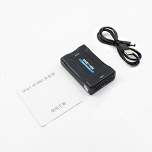 HDMI to SCART 1080P Video Audio Converter Adapter With USB Power Cable For Smartphone Sky STB DVD TV HDTV PS2 PS3 CRT VHS(China)