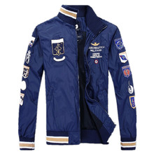 Aeronautica Militare Jackets actives Men's Polo Air Force One Jackets Italy Brand Jackets,spring Jacket MAN Clothes M-XXL