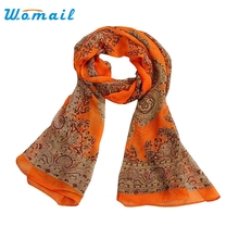 Womail Good Deal Good Deal  New Women Fashion Lady Long Soft Chiffon Scarf Wrap Shawl Stole Scarves Gift 1PC