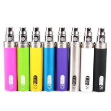 10pc ego 2200mah battery GS Ego II Battery Huge Capacity KGO ONE WEEK Battery for Vaporizer Pen e cigarette CE4 510 EGO Atomizer(China)