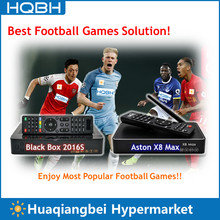 Singapore Box Black Box 2016S and Aston X8 Max IPTV Box Asia Collection Pack Combo Watch Popular Football Games