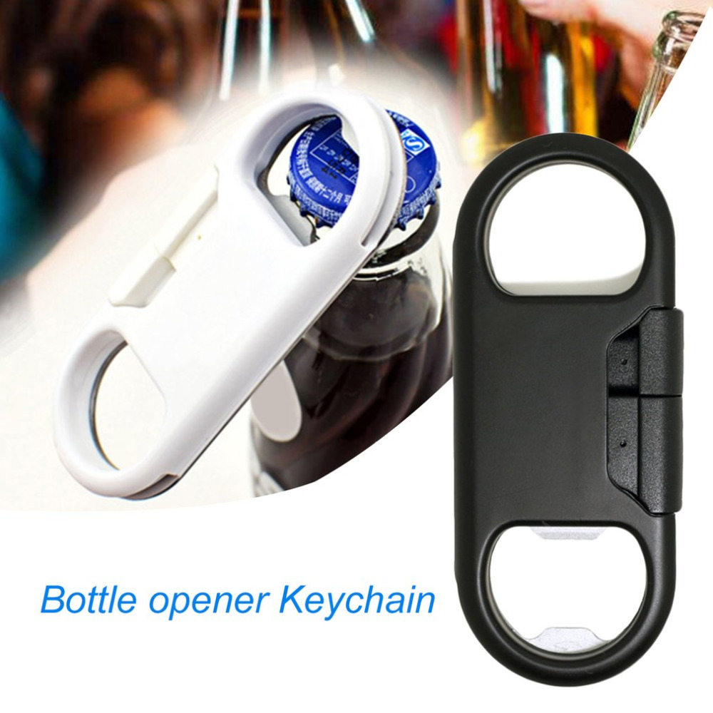 Portable Size Metal Micro USB Charging Cable Beer Bottle Opener Design Fast Charging Sync Data Cable Cord Android Phones