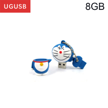 Hot cheap cute cartoon Doraemon PVC Usb flash drive Pen drive Usb memory stick thumb Pendrive Usb disk 1GB 2GB 4GB 8GB 16GB 32GB