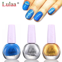 Stamp Nail Polish & Stamping Polish Nail Art 30 Colors Optional Stamping Nail Lacquer for Nail Manicure Art 6ml/bottle
