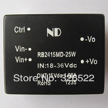 dc dc converters 24V step down to 15V 25W Isolated dc-dc power supply modules Free shipping