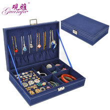 Hot Sell Factory Sales High-grade Velvet Jewelry Boxes, Ring Boxes,Loss Sale Jewel Case For Gift 2017 New Style Wedding Gift(China)