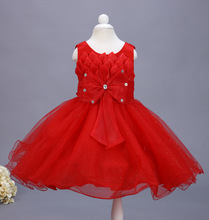 Diamond kids  dresses for girls Frock Designs Baby Girl princess wedding Birthday Party dress robe fille For 2 4 6 8 10 Years