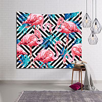 Tapestry-Geometry-Flamingo-Decoration-Wall-Tapestry-Tapiz-Pared-Mandala-Blanket-Tenture-Mural-Tapestry-Wall-Hanging-Mandala