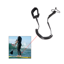 Coil Surf leash 7ft / 8ft / 9ft / 10ft Surfboard Leash Coiled by Bullet Proof Surf Stainless Steel Swivels Surf Accessories(China)