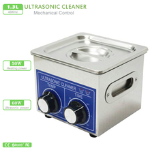 110V Ultrasonic cleaner 220V PS-08 heater & timer 60W 40KHZ for Household glasses jewelry watch electronic pcb lab wash machine