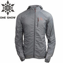 ONE SNOW Waterproof Jacket Men Outdoor Skincoat Sunscreen Ultra-light Breathable Jacket Men Camping Fishing Hiking CJacket CAXA