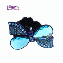 Luxury Hair Rope Cellulose Aceate with Rhinestone & Crystal Hair Accessories Shop For Women Hair jewelry Free Shipping Gifts