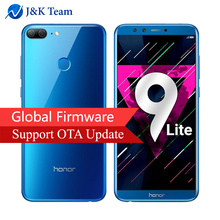 "Global Rom Huawei Honor 9 Lite 5.65"" Full View Screen 2160*1080Pix Android 8.0 Smartphone Octa Core 4 Cameras 13MP mobile phone(China)"