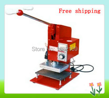 GOOD QUALITY PROFESSIONAL MANUAL HOT STAMPING MACHINE,WORK TABLE SIZE 150*110MM.CAN PRINT FOR PVC CARD,LEATHER etc