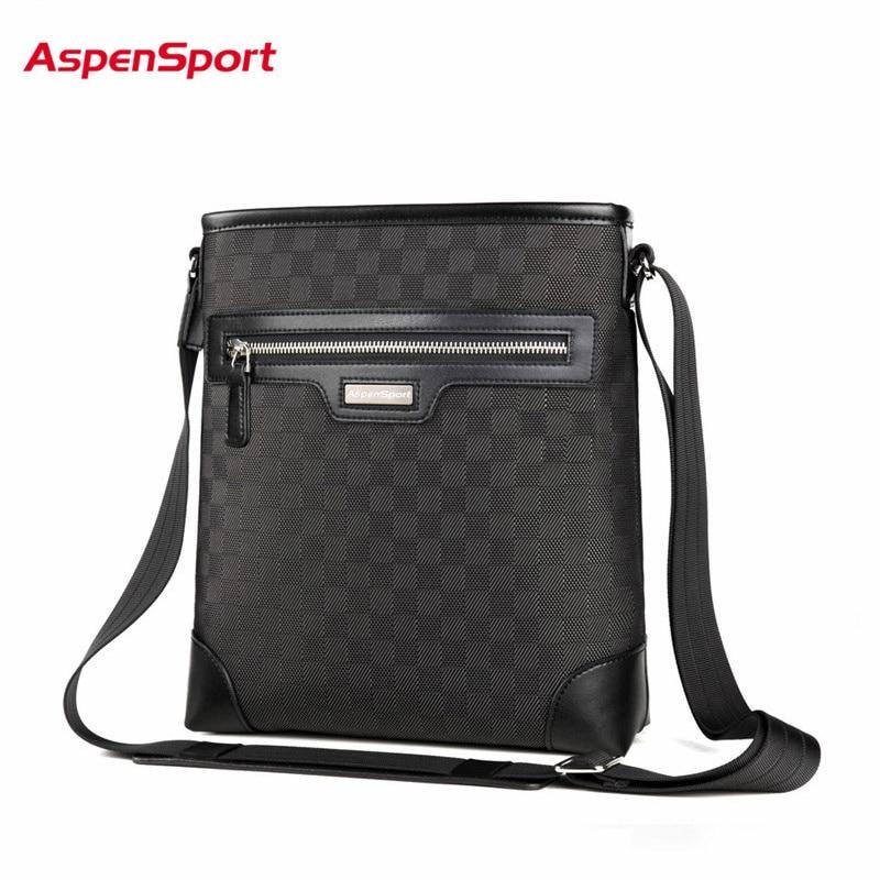 AspenSport 2017 Hot MenS Shoulder Bags Waterproof Messenger Bag High-Quality Crossbody Bag For Top Brand Men Business Bags<br>
