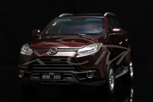 Diecast Car Model JMC All New Yusheng S350 SUV 1:18 (Red/Brown) + SMALL GIFT!!!!!(China)