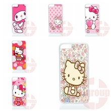 Cover Cases bear hello kitty kt funny For Apple iPhone 4 4S 5 5C SE 6 6S 7 7S Plus 4.7 5.5 iPod Touch 4 5 6