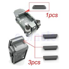 Body + Battery Terminal Charging Port Plug Dustproof Protector Cover Set Replacement Fit For DJI Mavic Pro AA3998-AA3999