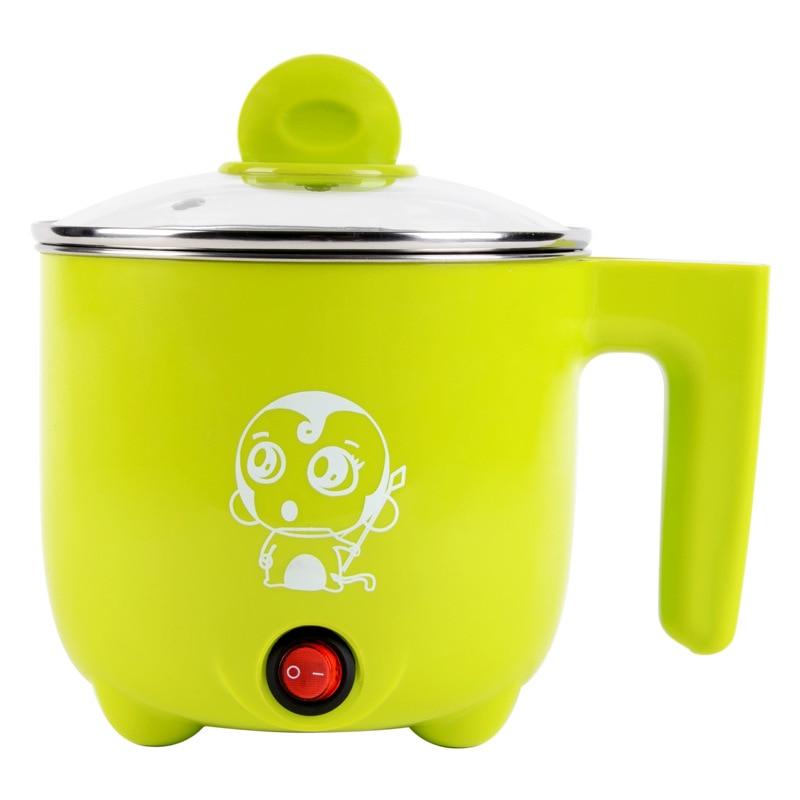 220V Multi-function Electric Cooker 1L capacity Electric Skillet Pot Steamed egg/cooking noodles / Soup<br>