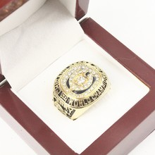 NEW ARRIVAL 1985 Chicago Bears SuperBowl XX WORLD Champions Solid Championship Ring with Solid Wooden Box Size 11(China)