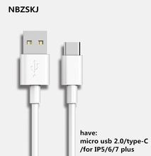 micro usb cable 2.1A fast for Alcatel Alcatel One Touch Idol 2 Mobile phone Charging Data line/type-c cable for Nokia Lumia 520