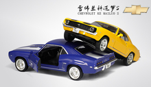 UNI 1/36 Scale USA Chevrolet Camaro SS Diecast Metal Pull Back Car Model Toy New In Box For Gift/Children/Christmas