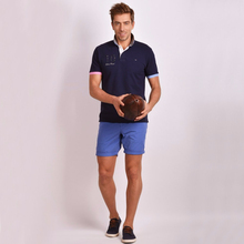 Eden Park High Quality France Luxury Brand Summer Men Short Sleeve 100% Cotton Polos Famous Camisa Mens Polo Shirts 2802(China)