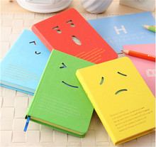 30 PCS Creative Smile Hard Copybook Notebook Notepads Diary Stationary Wholesale-Christmas Gift Novelty Items