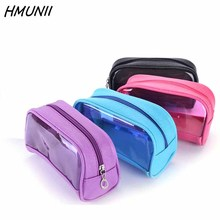 Transparent Cosmetic Bags PVC Makeup Bags Travel Organizer Necessary Beauty Case Toiletry Bag Bath Wash Make up Box