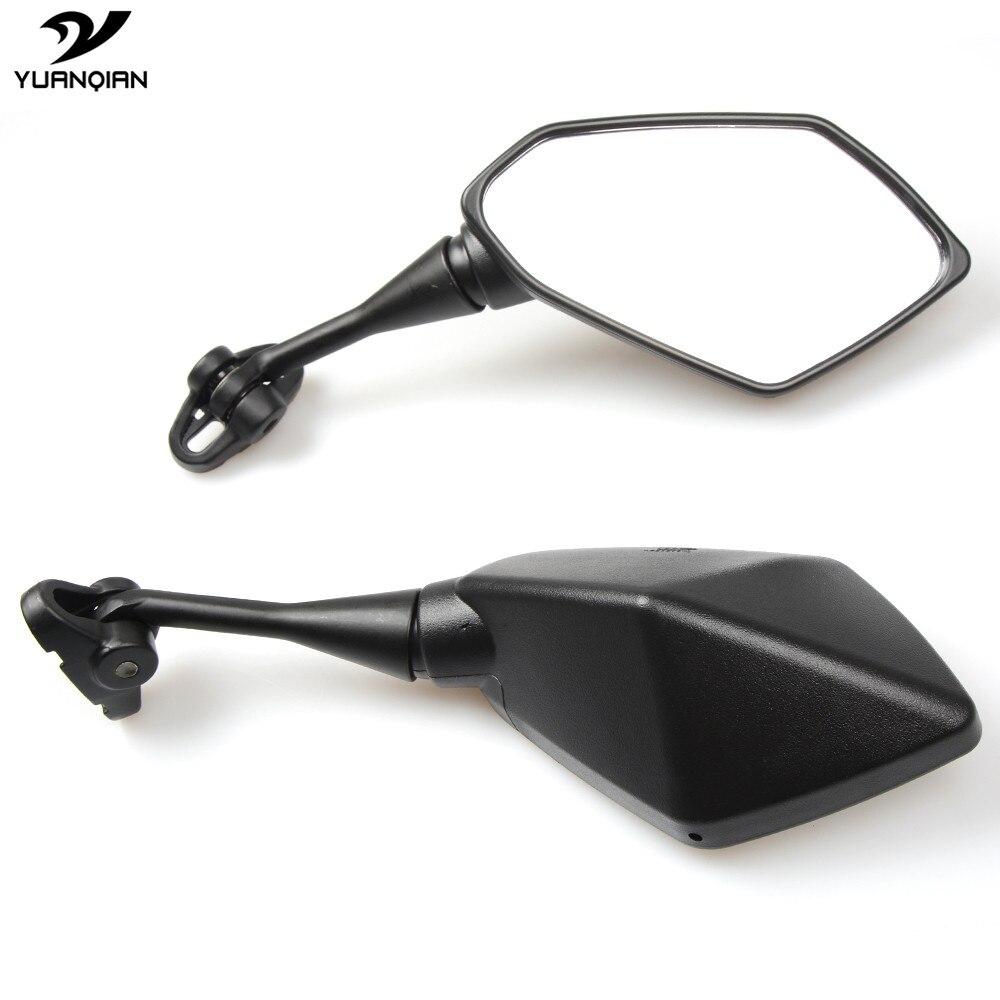 Motorbike Universal Motorcycle Mirror Racer Rearview Back Side View Mirror For Suzuki GSXR 600 750 GSX250R Hayabusa GSX650F S83<br>