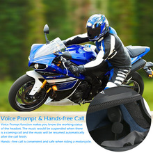 Wireless Bluetooth Headset Motorcycle Helmet Headphone Bluetooth Stereo Music Earphone Handsfree w/Mic for Phone