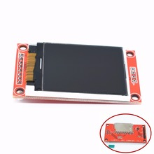 1pcs 1.8 inch TFT LCD Module LCD Screen SPI serial 51 drivers 4 IO driver TFT Resolution 128*160 TFT interface 1.8 inch(China)
