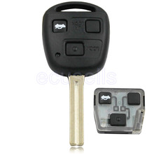 FOR LEXUS IS200 GS300 LS400 RX300 COMPLETE VIRGIN 3 BUTTON REMOTE KEY FOB 315mhz  WITH 4C CHIP