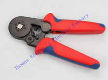 HSC8 6-4A MINI-TYPE SELF-ADJUSTABLE CRIMPING PLIER 0.25-6mm2 terminals crimping tools multi tool tools hands pliers LUBAN