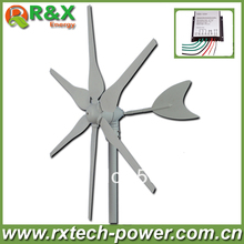 Horizontal wind generator 300w wind generator, factory price+high quality small wind generator for boat+wind controller.