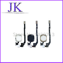 Gold/Black/White Replacement Parts Home Button Key Assembly Flex Cable for iPhone 5S Repair part Free shipping