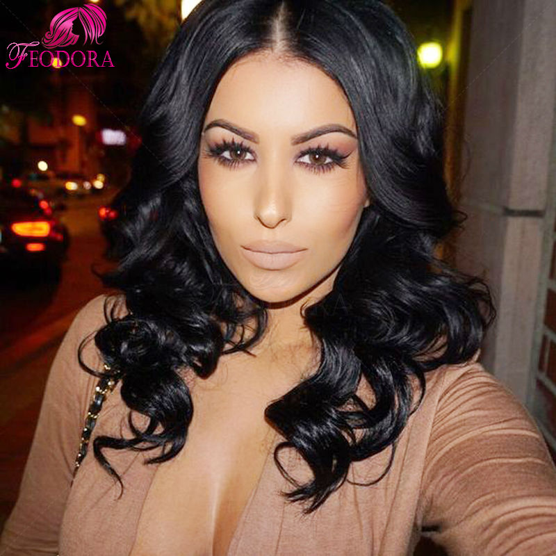 Unprocessed Human Hair Full Lace Wigs 7A Grade Body Wave In Stock Full Lace Wigs 130% Density Virgin Human Hair Lace Front Wigs<br><br>Aliexpress