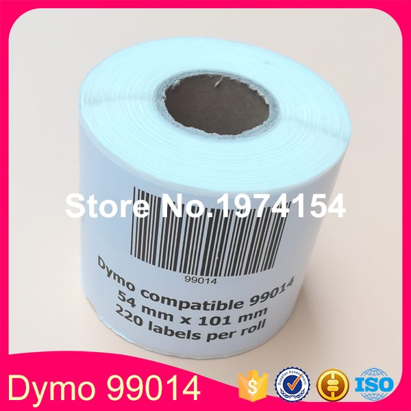 50*Rolls Dymo 99014 Label Compatible Etiketten 54x101mm for LW 450Turbo (Also Supply 99012 99015 11353 11354 11356)