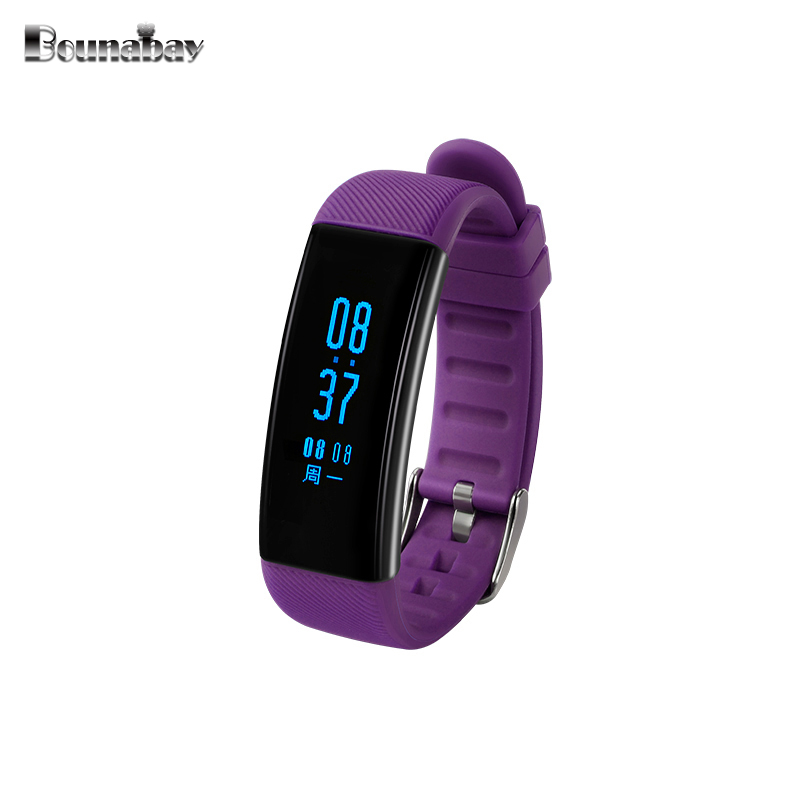 BOUNABAY Smart Bluetooth Bracelet watch for women touch apple watches Android ios phone ladies waterproof clocks lady 32m clock<br>