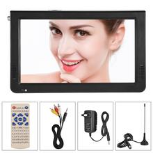 LEADSTAR Television Portable 10 Inch ATSC 1024X600 Digital TV TFT LED 1080P HD HDMI Video Player TV(China)