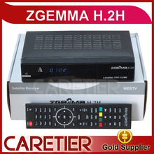 Best Offer for 10pcs/lot HD Combo DVB-S2 DVB-T2/C Satellite Receiver ZGEMMA H .2H with bcm7362 Dual Core TF Card support fedex