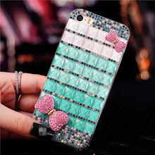 2017 Fashional Red Lipstick Style Bling Pearl Cartoon Pattern Cell Phone Case Shell for China Mobile A1/A1S/N1/701/811/812/823