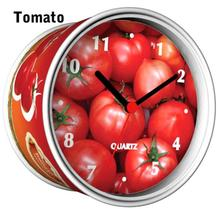 [In Stock] Tomato Magnetic Cheap Wall Clocks,Cheap Desk Clocks,Cheap Table Function Clocks in Free Shipping(China)