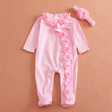Buy Retail Spring/Autumn Baby Girl Clothes,New Born Baby Girl Romper,Baby Jumpsuit,Infant Clothes, Children Clothing for $9.00 in AliExpress store
