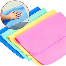 5PC/LOTMagic Leather Car Washing Cloth Absorbent Cleaning Towel Kitchen Towel Clean functional Artificial Suede Absorption Towel