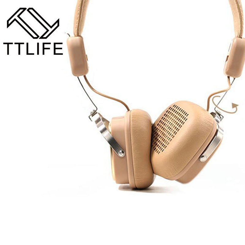 Fashion TTLIFE Brand Foldable Stereo Wireless Bluetooth Headphone Bleutooth Earphone with Microfone Support AUX Strong Deep Bass<br>