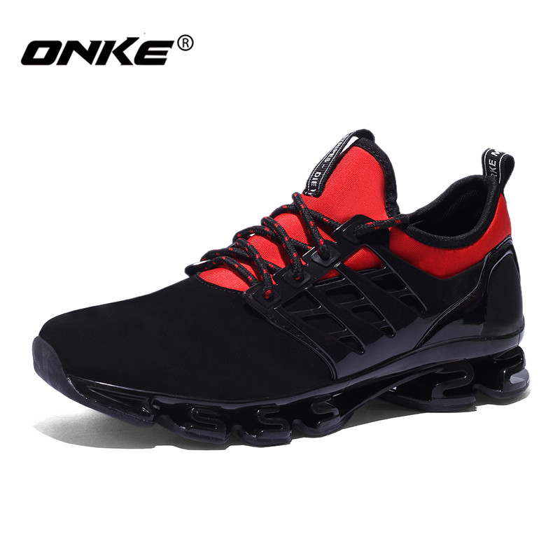 New Onke Super Cool Men Running Shoes Breathable Fabric Women Outdoor Sneakers Sport Shoe for Running Zapatos Hombre <br><br>Aliexpress