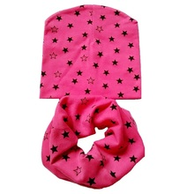 Winter Spring Warm Baby Hat Girl Cap Cotton scarf baby Beanies kids Boy Hats Chapeau des enfants Bufandas Infantiles(China)