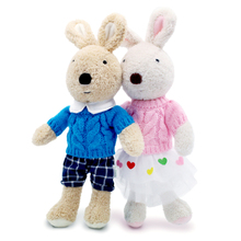 le sucre bunny rabbit Plush dolls & stuffed toys hobbies korean classic baby kids toys for children girls Christmas gifts(China)