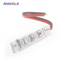 Dc 5-24v 288w 3 Key Manual Switch Mini RGB Controller For LED 3528 5050 RGB Strip, 19 Changing Color Modes,20 Static Modes